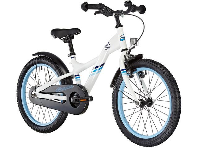 s'cool XXlite 18 Børnecykel steel hvid (2019) | City-cykler
